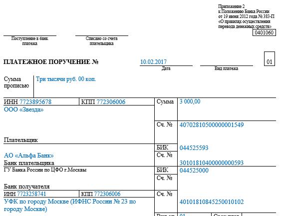 гамма образец платежного поручения для уплаты штрафа по решению обычного согревания