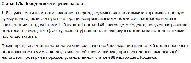 Статья 176 НК РФ