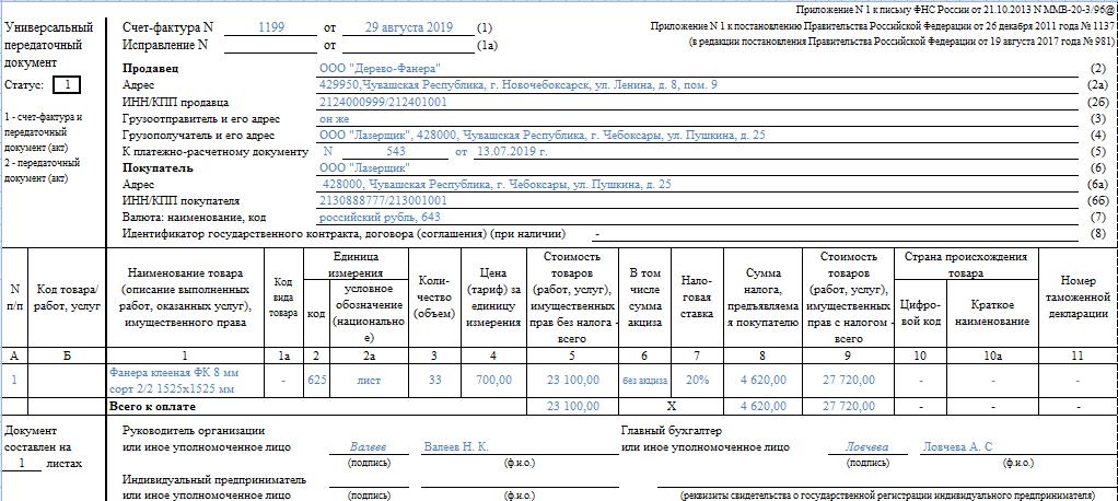Что такое счет и счет-фактура, в чем разница между этими документами, а также как их заполнять?