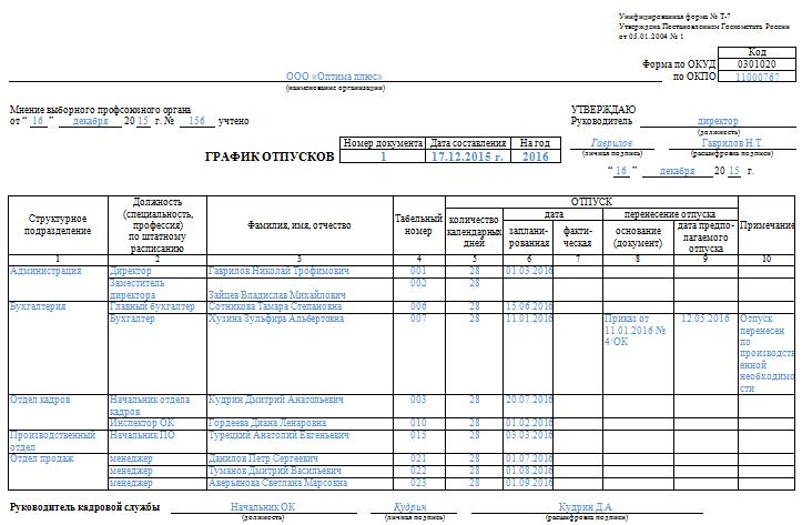 График Налоговых Платежей Образец - фото 4