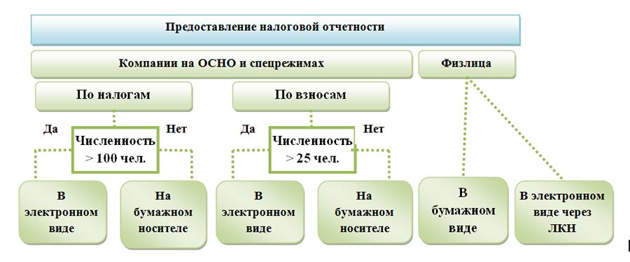 Сдача отчетности в электронном виде и в бумажном регистрация ип в нижнем