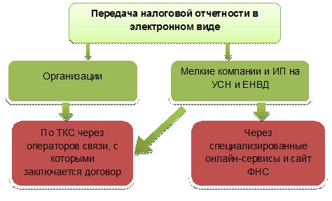 Срок сдачи электронной отчетности отказ государственной регистрации ип